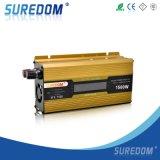 convertidor/inversor del voltaje del coche de 1500W LCD