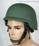 Les militaires combattent le casque à l'épreuve des balles Nij Iiia 9mm Fmj Rn de casque ballistique de Pasgt M88 Aramid Kevlar