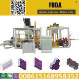 Qt hidráulico4-18 Semiautomática máquina de moldeo por bloques de cemento