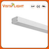 ULのセリウムSAA RoHSとの0-10V Dali LEDの線形軽い照明に互換性がある保証表面の取付けられるか、またはPendentまたは壁に取り付けられた5年20With30With40W SMD3030