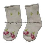 Socke, die Maschine herstellt