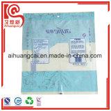 Bolso plano plástico del sellado caliente para el empaquetado disponible de las tazas