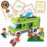 Stadt-Serien-blockt glücklicher Reise-Bus Spielzeug für Kinder