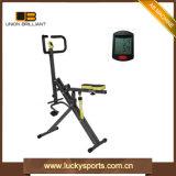 Scricchiolio del corpo della bici di esercitazione di forma fisica della costruzione di corpo di forma fisica