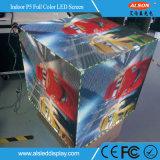 P5 6つの表面が付いている屋内フルカラーの魔法の立方体のLED表示スクリーン