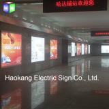 Het LEIDENE Waterdichte Lichte LEIDENE van de Doos Uithangbord dat van de Stof voor het Teken van de Luchthaven adverteert
