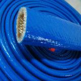 Chemise hydraulique tressée de silicones de boyau de fibre de verre résistante thermique