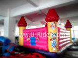 Heet verkoopprinses roze het springen opblaasbaar de spronghuis van het bouncykasteel voor jonge geitjes