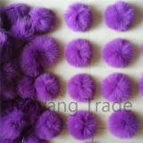 Décoration colorée POM POM de la bille POM de fourrure de fournisseurs de la Chine