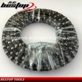 Провод диаманта алмазных резцов для гранита/мрамора/бетона/карьера