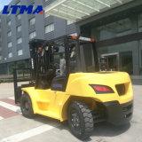 Marcação ce Certificado ISO do carro elevador 5 Ton 7 Ton Empilhadeira Diesel