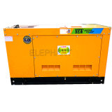 4jb1ta Isuzu 엔진 전기 주지사 연료 저축 32kw 40kVA 세트를 생성하는 디젤 엔진 발전기