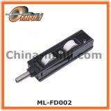 亜鉛ブラケット(ML-FS004)の針状ころ軸受が付いている高さの調節可能な単一のローラー