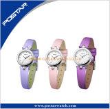 Ausgetauschte Brücke-Form-Dame Uhr mit Ineinander greifen-von Mailand Brücke-Edelstahl-reizend Uhr