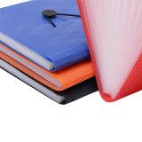 Office & School Papelaria plástico PP personalizado 13 Bolsos com marca de pasta de arquivo em expansão