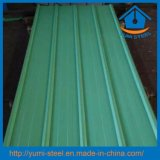 Folha de metal revestida dos revestimentos do telhado da cor ondulada de aço de China