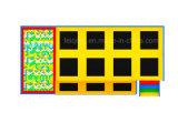 Kind-populärer Cer-Bescheinigung-Schaumgummi-Trampoline-Vorstand-weicher aufgefüllter Innenspielplatz-Trampoline-Park