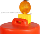 Jiachen Blue Traffic Barricade Lamp for Road Safety