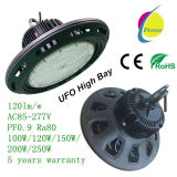 Louro elevado do diodo emissor de luz do UFO com a microplaqueta de Osram do excitador de Meanwell 5 anos de garantia