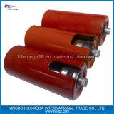 安いコンベヤーのための重力によって電流を通される鋼鉄管ゴム製上塗を施してあるベルトの管のコンベヤーのローラー