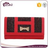 Женщины бумажник, повелительница Бумажник и бумажник PU Fani кредитной карточки