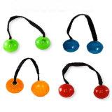 Incandescenza di prezzi di fabbrica nei mandrini scuri del pollice del yo-yo LED della barretta