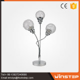 2017 ahueca hacia fuera la lámpara de cristal de la lámpara de tabla de la lámpara