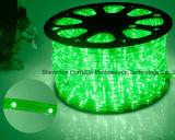 LED 밧줄 빛 또는 옥외 Light/LED 지구 빛 또는 네온 등 또는 크리스마스 불빛 또는 휴일 빛 또는 호텔 빛 또는 바 가벼운 라운드 2 철사 백색 색깔 25LEDs 1.6W/M LED 지구