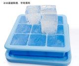 Контейнер замораживателя хранения babyfood Benhaida гибкий, многоразовый поднос кубика льда силикона с крышкой