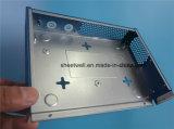 Peças de máquinas CNC revestidas em pó galvanizado em aço inoxidável de metal