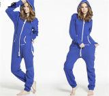 冬の女性のための暖かい偶然の綿のジャンプスーツ