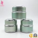 Jarro de cosméticos de alumínio para cuidados pessoais