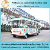 Трейлер еды доставки с обслуживанием сладостной встречи хорошего качества передвижной с опционным оборудованием доставки с обслуживанием
