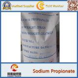 Hoge Zuiverheid 99% Propionaat van het Natrium van het Additief voor levensmiddelen