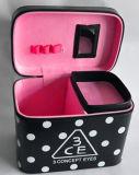 الجديدة مضادّة بنية حقيبة كبيرة حجم [3س] [سملّ بوإكس] مستحضر تجميل صندوق