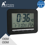 Estilo Simples grande visor LCD na parede e mesa digital despertadores