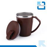 Koreanischer Edelstahl der Art-304 und Plastikkaffeetasse-u. Eiscreme-Cup mit Kappe