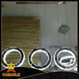 Traditioneller Dekoration-Kristall und hängendes Licht des Edelstahl-LED (KA10025-3)