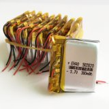 3.7V 300mAh Lithium Polymer Lipo Cellules rechargeables pour MP3 Pad DVD E-book Bluetooth Headset 502823