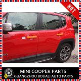 Tampa cor-de-rosa material do punho de porta do estilo do ABS do auto acessório para o modelo renegado (4PCS/SET)