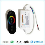 LEDのための6つのキーの調光器RFの接触RGB制御は18Aを除去する
