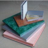 Мрамором ячеистой алюминиевой панели