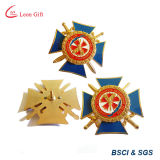 Perni del risvolto del distintivo dell'oro di obbligazione personalizzati fabbrica