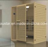 Stanza di sauna di legno solido con il formato personalizzato (AT-8624)