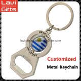 Preiswerter kundenspezifischer antiker Schlüsselsurfbrett-Flaschen-Großhandelsöffner Keychain