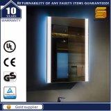 Espejo de aluminio del cuarto de baño de Docorative LED para el hotel