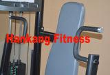 Des équipements de gym, corps de construction de la machine, le matériel de poids libres, sujet de la jambe Cur -PT-821