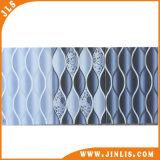 Mattonelle di ceramica rustiche della parete della stanza da bagno blu popolare del fiore del materiale da costruzione