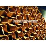 Pad de refroidissement évaporatif et système de serrage
