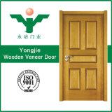 Porte intérieure en bois normale solide du modèle HDF